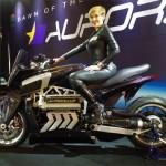 Siêu xe máy khủng Aurora Hellfire OZ26 trình diện