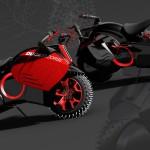 Lộ ảnh hoạt họa của siêu xe máy điện Ducati