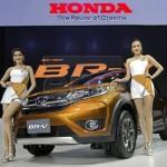 Tiết lộ những thông số đầy đủ xe cỡ nhỏ Honda BR-V 7 chỗ ngồi