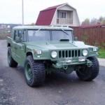 Xe tải Nga độ phong cách xe Humvee