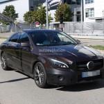 Lộ ảnh Mercedes CLA thế hệ mới đời 2017