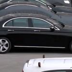 Mercedes E class 2017 mới có tùy chọn trục cơ sở dài