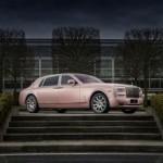 Ngắm Rolls royce Phantom EWB thay đổi được màu sơn