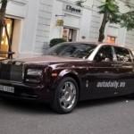Rolls-Royce Phantom Lửa Thiêng mang biển đẹp tài phát ở Hà Nội