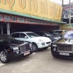 Siêu xe Phantom của đại gia Thủy sản bán về chợ xe cũ ?