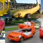 Top xe ô tô có kiểu dáng quái dị nhất thế giới