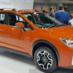 Xe Subaru XV nâng cấp dành cho thị trường Châu Á