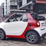 Xe mini Smart Fortwo mui trần nhận đơn đặt hàng 2016