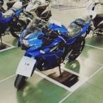 Đã có ảnh xe máy thể thao 250cc của Yamaha tại Indonesia
