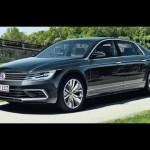 Xe hạng sang Volkswagen Phaeton chạy điện ngừng ra mắt