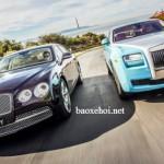 Bentley và Rolls royce đều giảm doanh số năm 2015