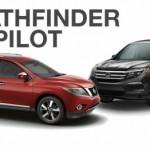 Xe SUV cỡ trung Honda Pilot so sánh với Nissan Pathfinder
