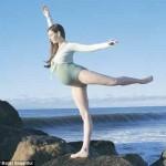 Choáng bà bầu 9 tháng vẫn nhảy múa như bình thường
