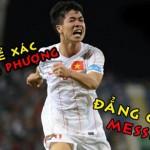 Những pha xử lý bóng ngang Lionel Messi của Công Phượng