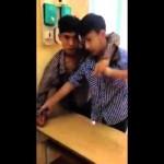Hai nam học sinh cấp 3 đánh nhau gây xôn xao dư luận
