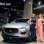 Xe crossover Maserati Levante sẽ ra mắt tại Geneva 2016