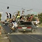 Những pha tai nạn kinh hoàng của các tay đua xe trái phép