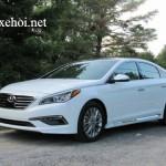 Xe Hyundai Sonata được giải thưởng xe an toàn 2016