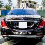 Đẳng cấp Maybach S600 màu ruby đen thứ 2 tại Việt Nam