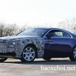Rolls-Royce Wraith phiên bản nâng cấp đang được thử nghiệm