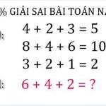 Bài toán tưởng khó nhưng lại vô cùng dễ