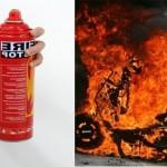 Bình cứu hỏa không bị cháy khi để ngoài trời nóng