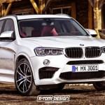 Xe sang BMW X3M mới 2017 công suất 500 mã lực