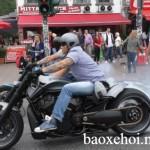 Bộ 3 siêu xe mô tô Harley Davidson độ hầm hố trên phố