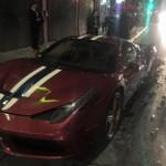 Hot girl lái siêu xe Ferrari 458 Speciale tai nạn vì ma túy