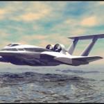 FlyShip du thuyền bay siêu sang trên mặt biển