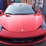 Đầu năm 2016 đại gia Việt mua siêu xe Ferrari 458 mui trần