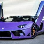 Ngắm siêu xe Lamborghini Aventador Rồng tím siêu độc