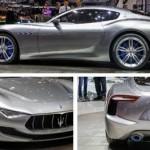 Lộ ảnh siêu xe Maserati Alfieri mui trần