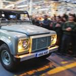 Xe suv địa hình Land Rover Defender ngừng bán và sản xuất