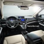 Xe Honda CR-V phiên bản 1 cầu có ghế bọc da sang trọng