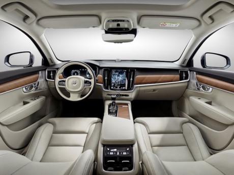 Volvo trình làng S90 mẫu sedan hạng trung sang trọng 4