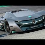 Ấn tượng siêu xe điện Mercedes ELK Concept