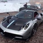 Siêu xe khủng Pagani Huayra BC giá 60 tỷ chạy thử trên đường