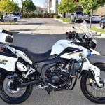 Siêu xe máy CSC RX3-P adventure touring cho cảnh sát giao thông