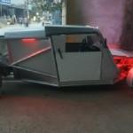 Xe Vespa tự chế trên đường phố Việt