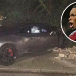 Tiền đạo West Ham lái xe Lamborghini tai nạn liên hoàn