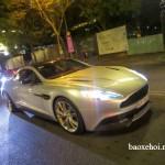 Ngắm siêu xe Aston Martin Vanquish biển đẹp trên đường Sài Gòn