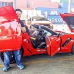Thiếu gia béo mập ở Sài Gòn mua siêu xe Chevrolet Corvette