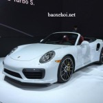 Siêu xe Porsche 911 Turbo, Turbo S 2017 ra mắt tại Detroit 2016