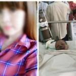 Cô gái bị bạn trai thiêu sống đã qua đời