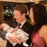 Tỷ phú Facebook cùng vợ đưa con đi tiêm vaccine