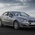 Peugeot 508 mới đẹp sang trọng và tiện nghi hơn