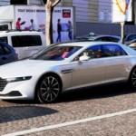 Siêu xe Aston Martin Lagonda phô trương trên đường phố