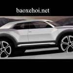 Lộ ảnh phác họa Audi Q1 hoàn toàn mới