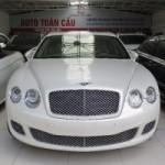 Bentley bán được 10.000 xe năm 2015